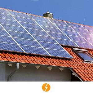 Sistema de energia solar completo