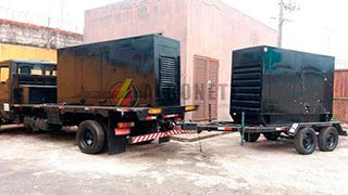 alugar gerador de energia elétrica a diesel