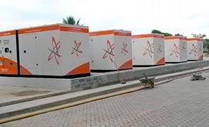Gerador de energia óleo diesel