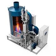 gerador de gases quentes