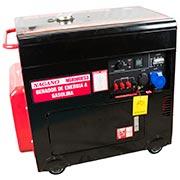 gerador de eletricidade a diesel