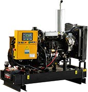 motor com gerador a diesel