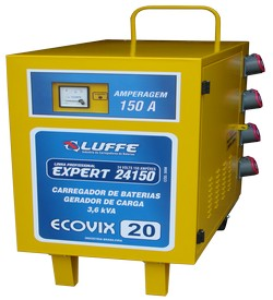 Gerador de carga e carregador de bateria