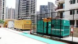 Gerador de energia a diesel para condomínio