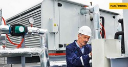 Grupo gerador de energia elétrica a diesel
