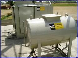 Instalação de tanque combustível para geradores