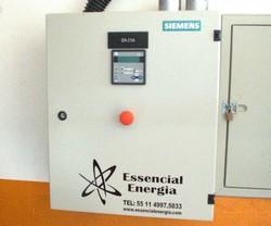 Painel de transferência automática para geradores