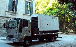 Locação grupo gerador diesel