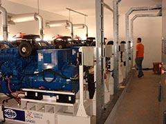 Manutenção em geradores a diesel