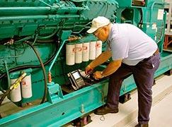 Manutenção de geradores