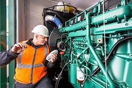 Manutenção geradores stemac